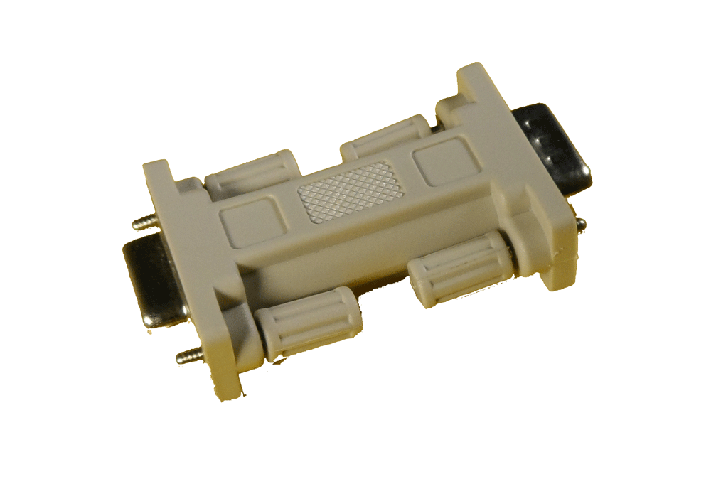 Monitor-Adapter PS/2 15pol HD / 9pol Sub-D Stecker-Buchse
