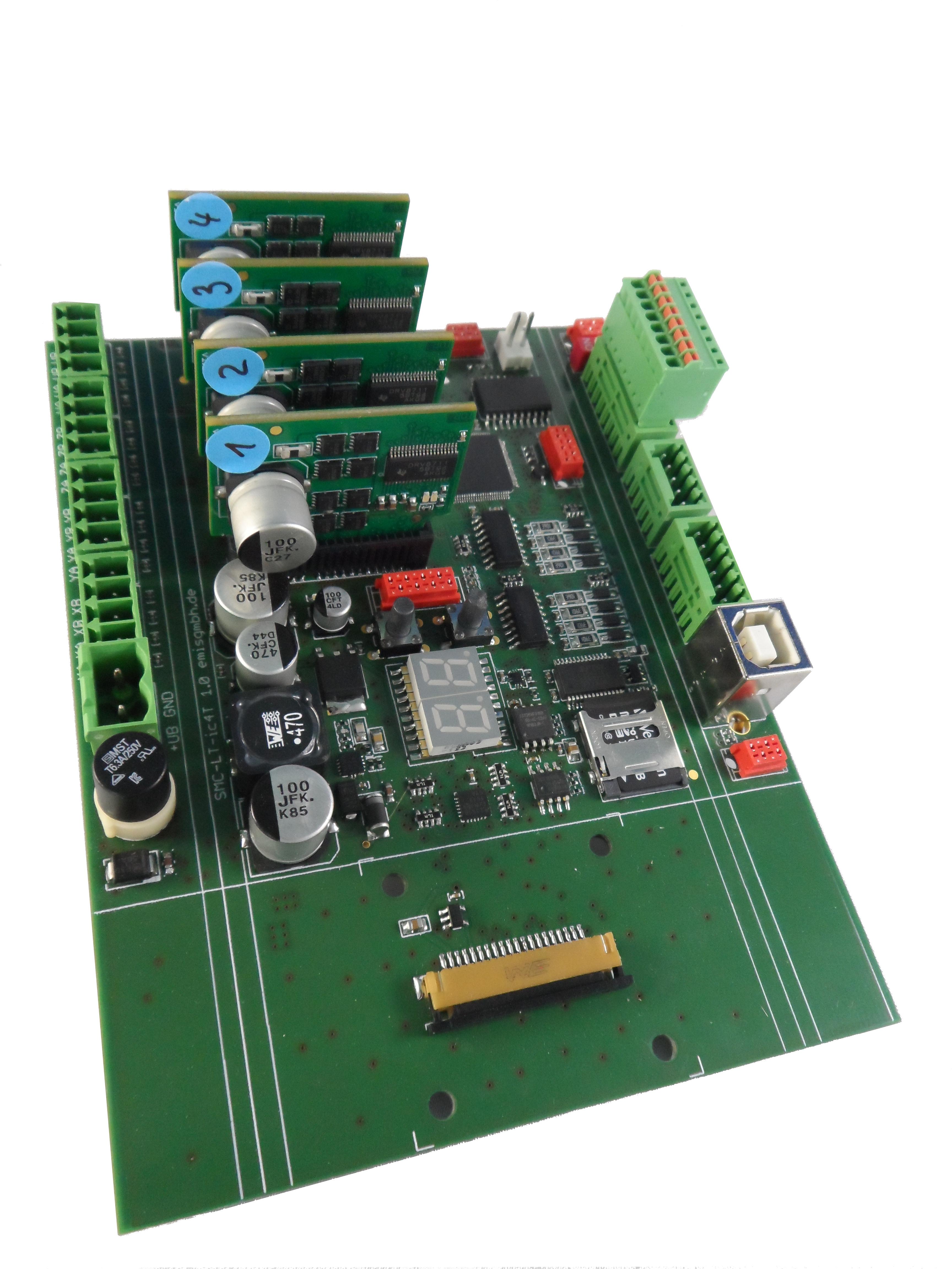 Schrittmotorsteuerung, Schrittmotorsteuerkarte SMC-IC4