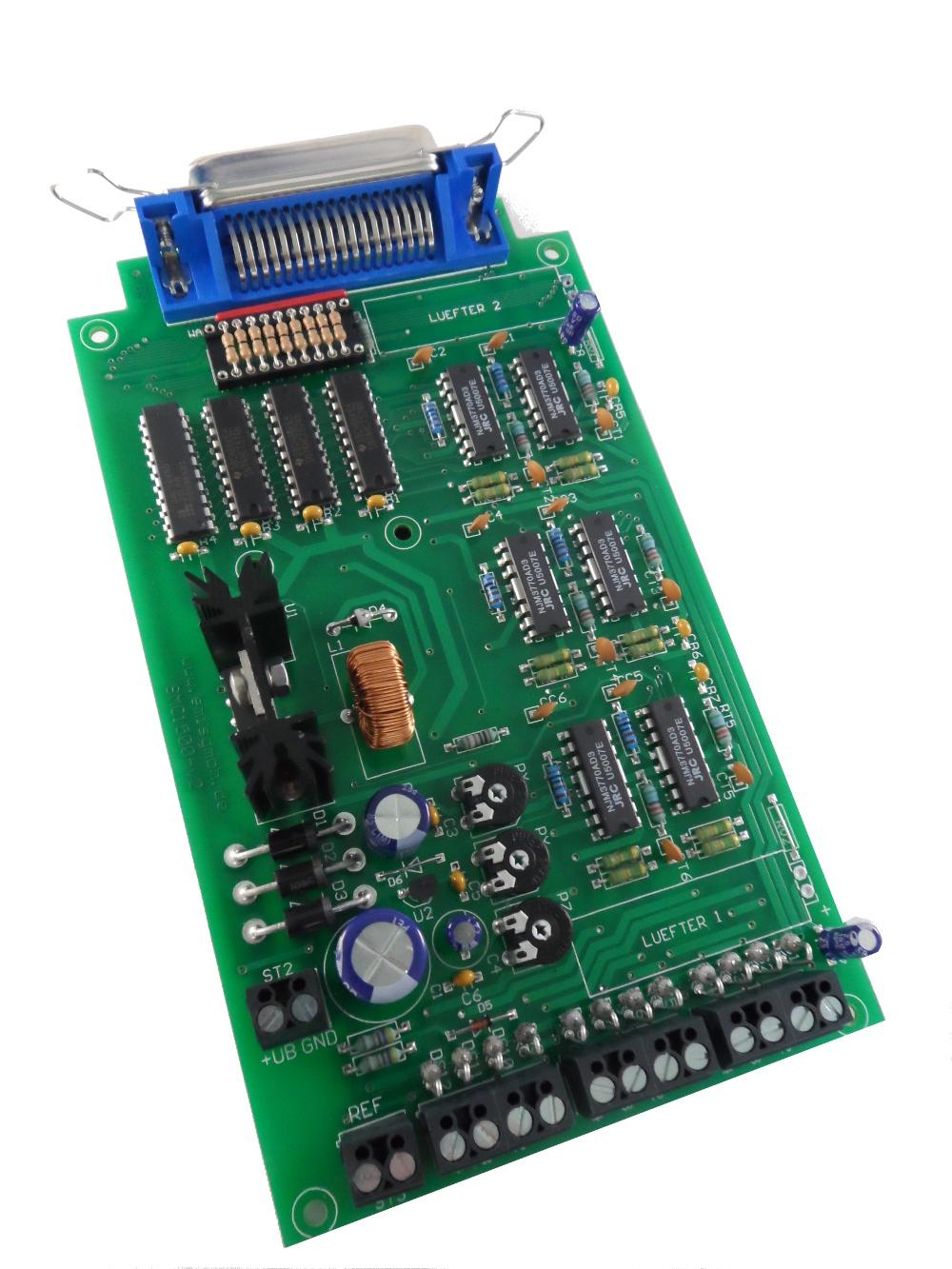Schrittmotorsteuerung, Schrittmotorsteuerkarte SMC1500