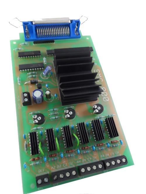 Schrittmotorsteuerung, Schrittmotorsteuerkarte SMC800