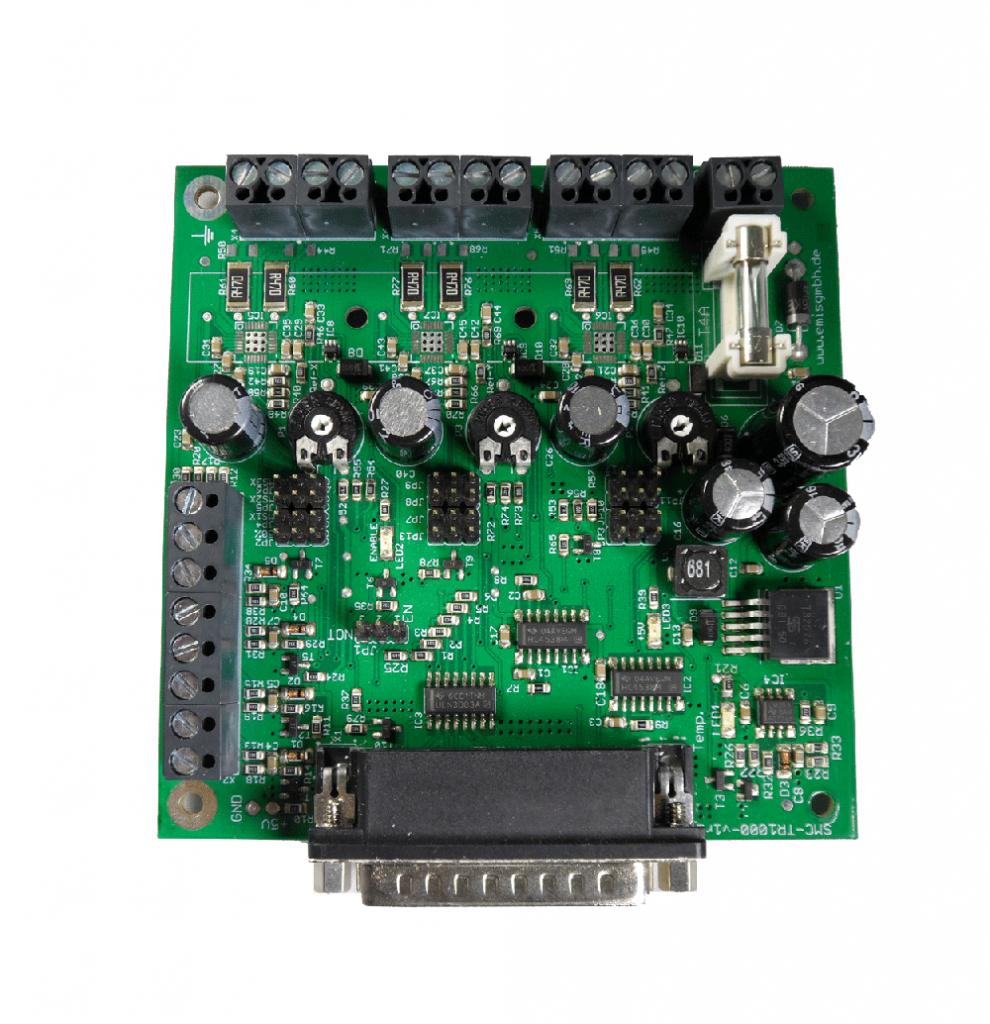 Schrittmotorsteuerung, Schrittmotorsteuerkarte SMC-TR1000